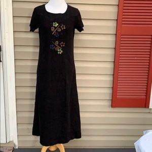 Blue Cactus women's black short sleeve dress